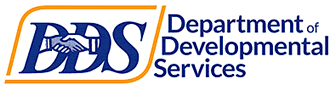 Logo of DDS Department of Developmental Services